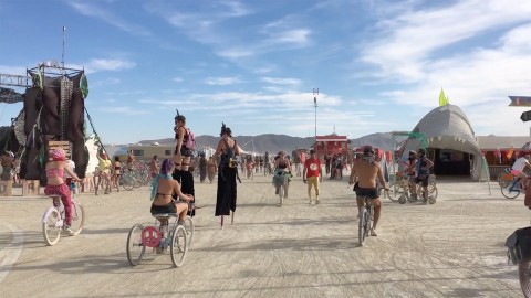 Burning Man '16 DaVinci's Workshop